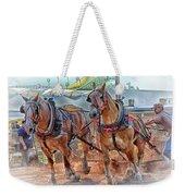 Horse Pull At The Fair Weekender Tote Bag