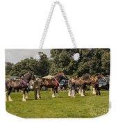 Horse Show Weekender Tote Bag