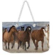 Horses-03 Weekender Tote Bag