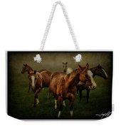 Horses 31 Weekender Tote Bag