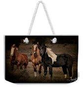 Horses 40 Weekender Tote Bag