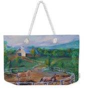 Horses At Gettysburg Weekender Tote Bag