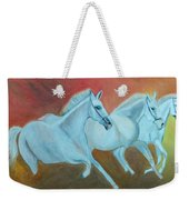 Horses Gone Wild Weekender Tote Bag