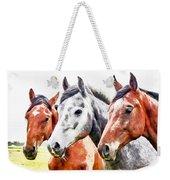 Horses - Id 16217-202757-3803 Weekender Tote Bag
