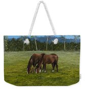 Horses Of Romance Weekender Tote Bag