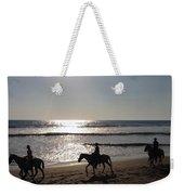 Horses On The Beach Weekender Tote Bag