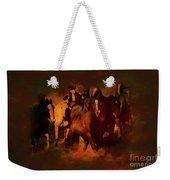 Horses Paintings 34b Weekender Tote Bag