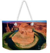 Horseshoe Bend Filters Paint  Weekender Tote Bag