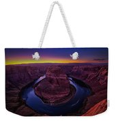 Horseshoe Sunset Weekender Tote Bag