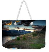 Horsetooth Reservior At Sunset Weekender Tote Bag