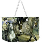 Horsewoman In The Bois De Boulogne Weekender Tote Bag