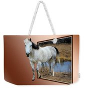 Horsing Around Weekender Tote Bag by Shane Bechler