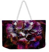 Colorful Hortensia Closeup Weekender Tote Bag