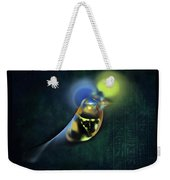 Horus Egyptian God Of The Sky Weekender Tote Bag by Menega Sabidussi