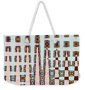 Hosiptal Construction Abstract #2 Weekender Tote Bag