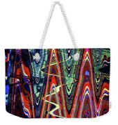 Hospital Construction Abstract #4 Weekender Tote Bag