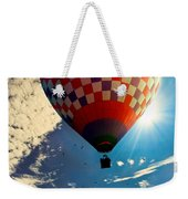 Hot Air Balloon Eclipsing The Sun Weekender Tote Bag