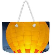 Hot Air Balloon Glow Weekender Tote Bag