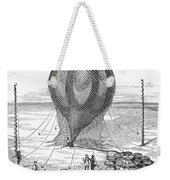 Hot Air Balloon Inflation Weekender Tote Bag by Granger