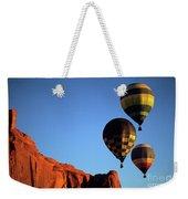 Hot Air Balloon Monument Valley 5 Weekender Tote Bag