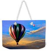 Hot Air Balloons At Sunset Weekender Tote Bag