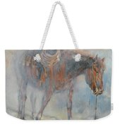 Hot And Frosty Weekender Tote Bag