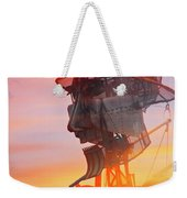 Hot And Steamy Man Engine Weekender Tote Bag