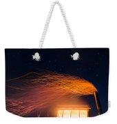Hot At Night Weekender Tote Bag