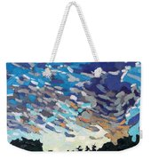 Hot August Sunrise Weekender Tote Bag