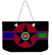 Hot Black Weekender Tote Bag