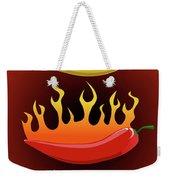 Hot Chilies Weekender Tote Bag