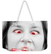 Hot Chilli Woman Weekender Tote Bag by Jorgo Photography - Wall Art Gallery