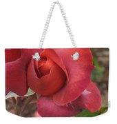 Hot Cocoa Rose Weekender Tote Bag