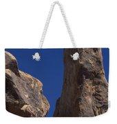 Hot Dark Blue Sky - Alabama Hills Weekender Tote Bag