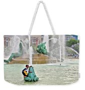 Hot Day In Philly Weekender Tote Bag