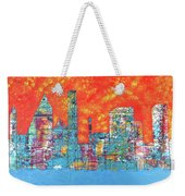 Hot Day In The City Weekender Tote Bag