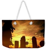 Hot Day On The Strip Weekender Tote Bag
