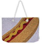 Hot Dog Emoji Weekender Tote Bag