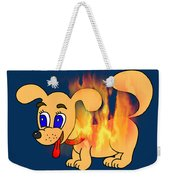 Hot Dog Weekender Tote Bag