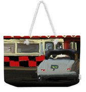 Hot Dogs And A Juke Box. Weekender Tote Bag