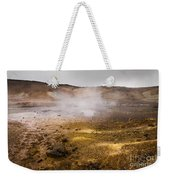 Hot Earth Weekender Tote Bag