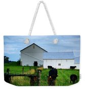 Hot Eve Night On The Farm Weekender Tote Bag