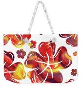 Hot Flowers Dancing Silhouettes Weekender Tote Bag