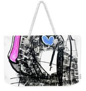 Hot Handed, Cold Hearted Weekender Tote Bag