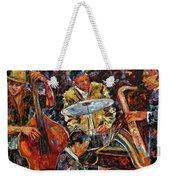 Hot Jazz Series 4 Weekender Tote Bag