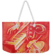 Hot Jazz Weekender Tote Bag