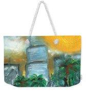Hot Miami Sky Weekender Tote Bag