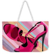Hot Momma's Hot Pink Pumps Weekender Tote Bag