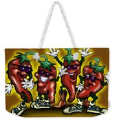 Hot Peppers Weekender Tote Bag