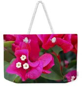 Hot Pink Bougainvillea Weekender Tote Bag